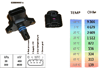 3 Bar MAP and Air Temp Sensor